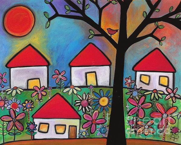 Mi Casa Es Su Casa Print by Carla Bank