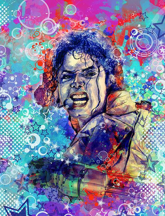 Michael Jackson 11 Print by MB Art factory