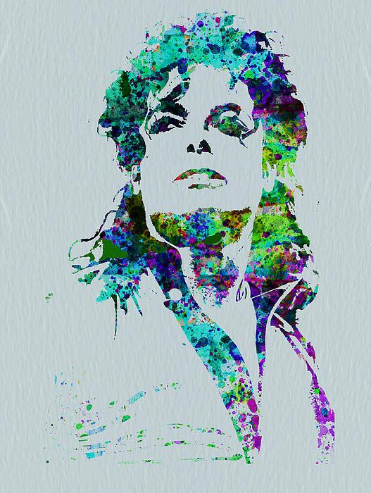 Michael Jackson Print by Naxart Studio