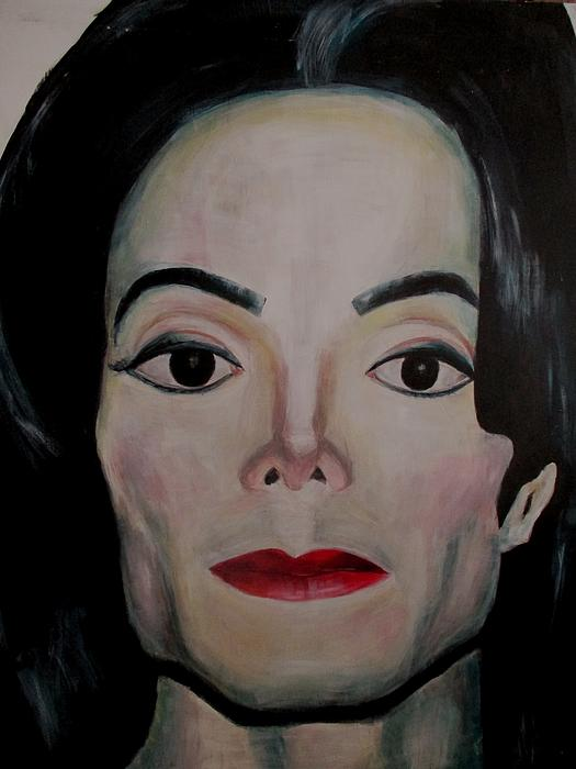 Michael Jackson Print by Maria Mimi