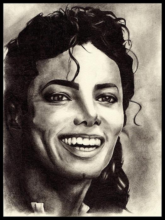 Michael Jackson Print by Monica Sutrisna
