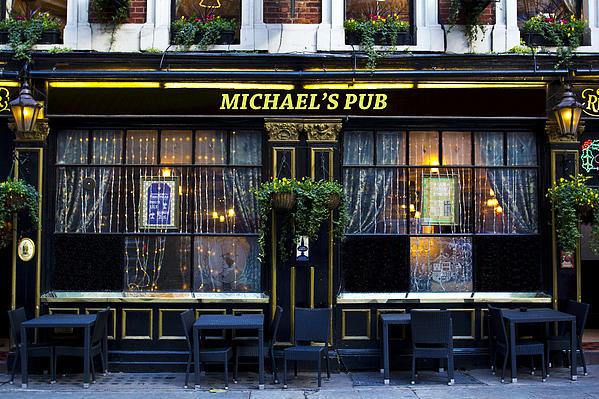 Michaels''s Pub Print by David Pyatt