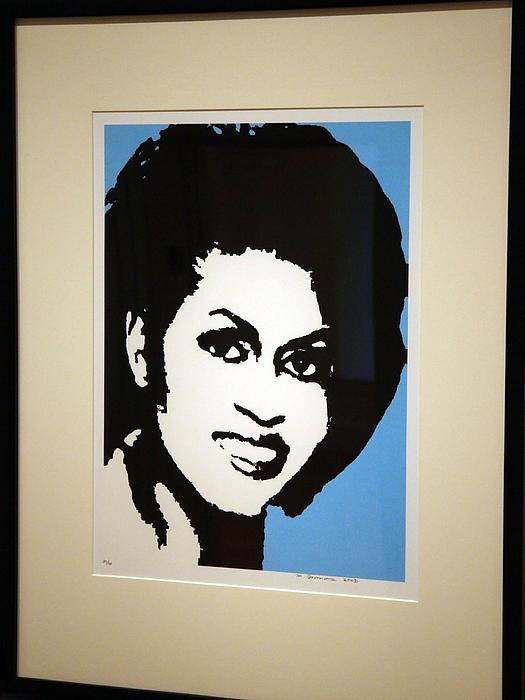 Michelle Obama Print by Cora Wandel