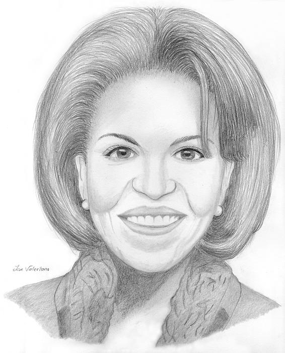 Michelle Obama Print by Jose Valeriano