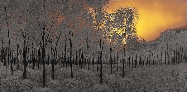 Midnight Print by Justin  Strom