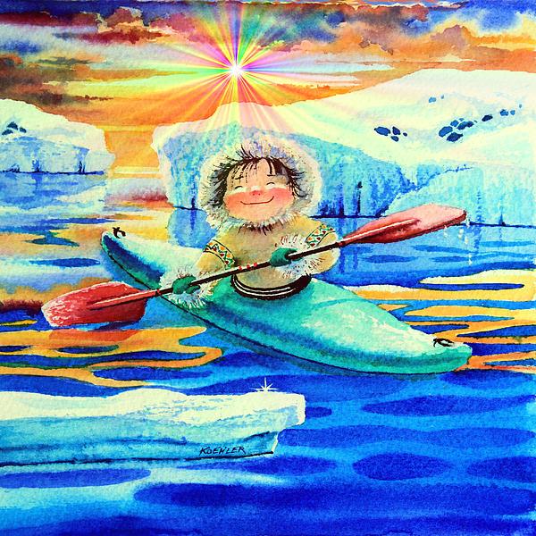 Hanne Lore Koehler - Midnight Sun Kayaker