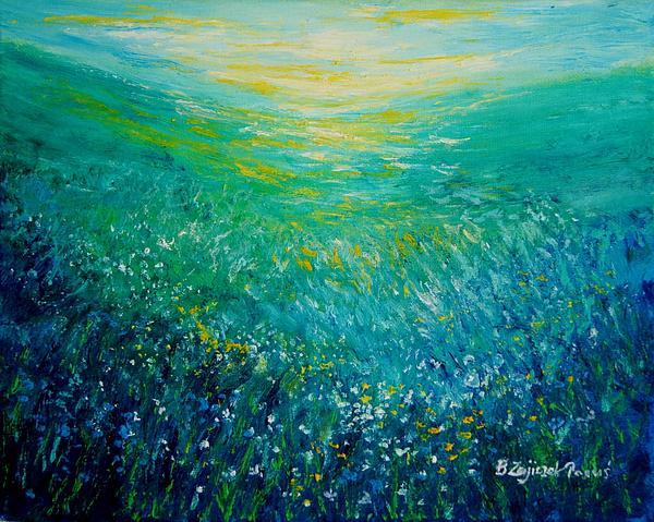 Bozena Zajiczek-Panus - Midsummer meadow