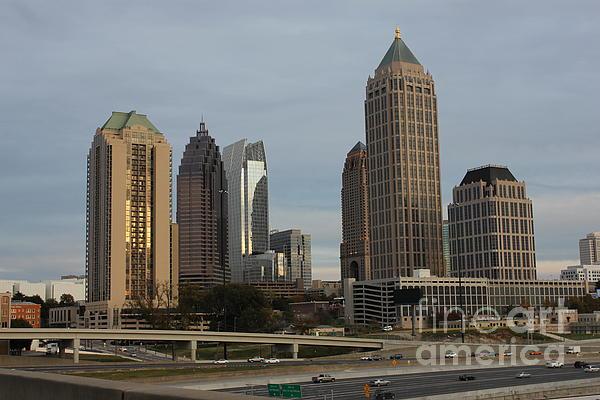 Midtown Atlanta Print by Reid Callaway