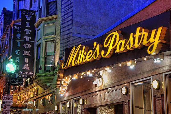 Mike's Pastry Shop - Boston Print by Joann Vitali