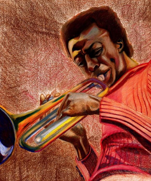 Miles In Color 3 Print by Dallas Roquemore