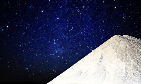 Charline Xia - Milky Way Over White Salt