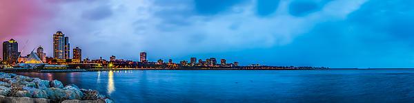 Steven Santamour - Milwaukee Skyline