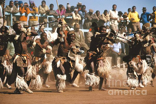 Mine Dancers South Africa Print by Susan McCartney