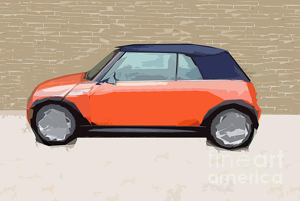 Mini Makeover Print by Bruce Stanfield