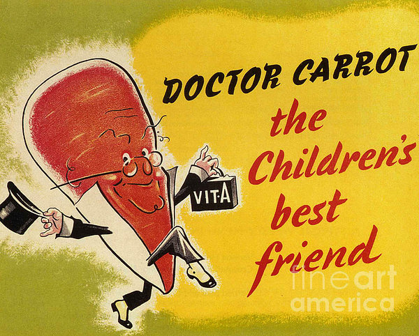 Ministry Of Food 1940s Uk Characters Print by The Advertising Archives