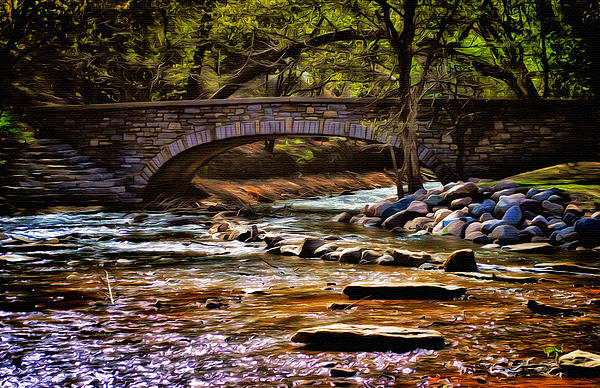 Minnehaha Creek 5 Print by Todd and candice Dailey