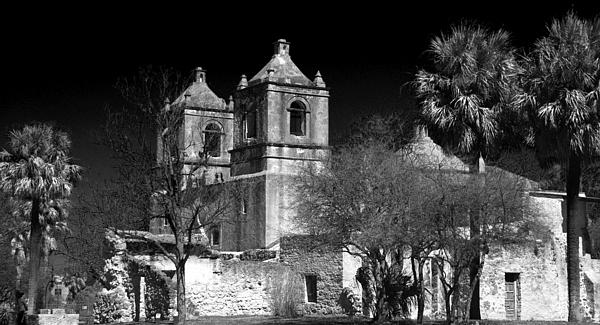Mission Concepcion Print by Brian Kerls