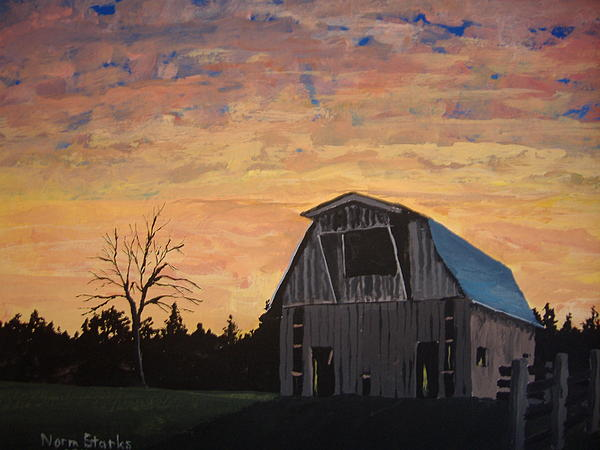 Norm Starks - Missouri Barn