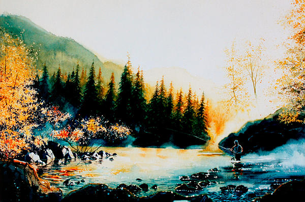 Hanne Lore Koehler - Misty Fishing Morning