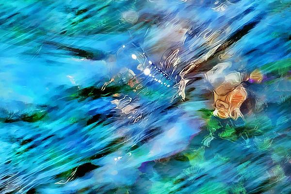 Misty Waters 2 Print by Terril Heilman