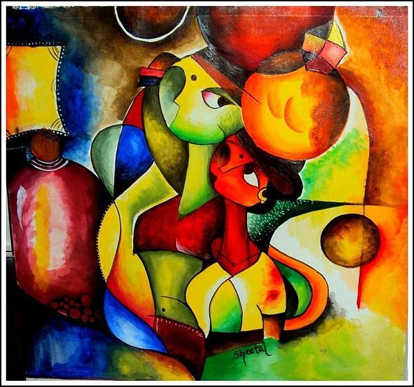 Sheetal Bhonsle - Modern art