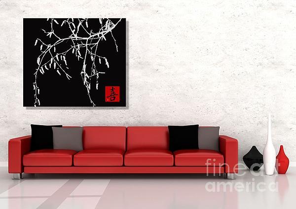 Modern Zen Design Print by Andrea Kollo