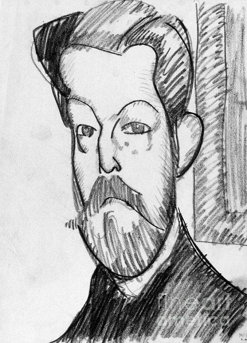 Modigliani - Paul Alexander Print by Granger