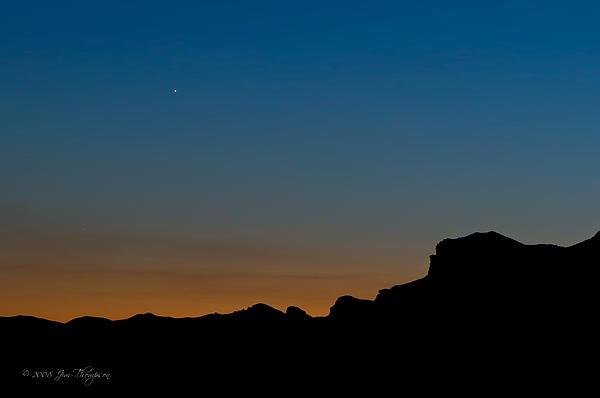 Mojave Sunset Print by Jim Thompson