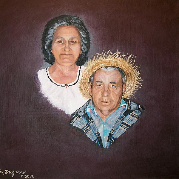 Sharon Duguay - Mom and  Dad