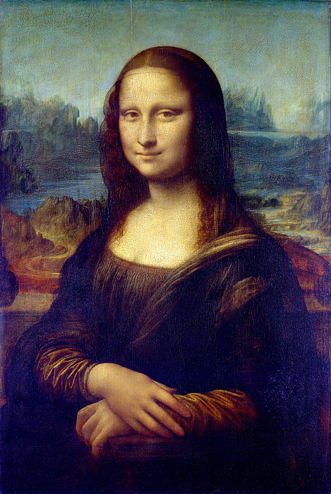 Mona Lisa Print by Karon Melillo DeVega