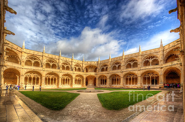 Monastery Dos Jeronimos Print by English Landscapes