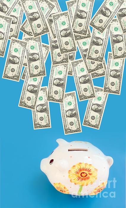 Money Saving Print by Michal Bednarek