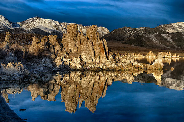 Kathleen Bishop - Mono Lake in March