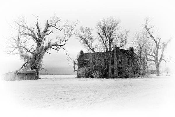 Monster Manor - Horror House On Outer Banks Print by Dan Carmichael