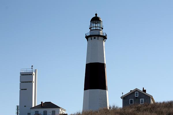 John Telfer - Montauk Lighthouse As Seen From the Beach
