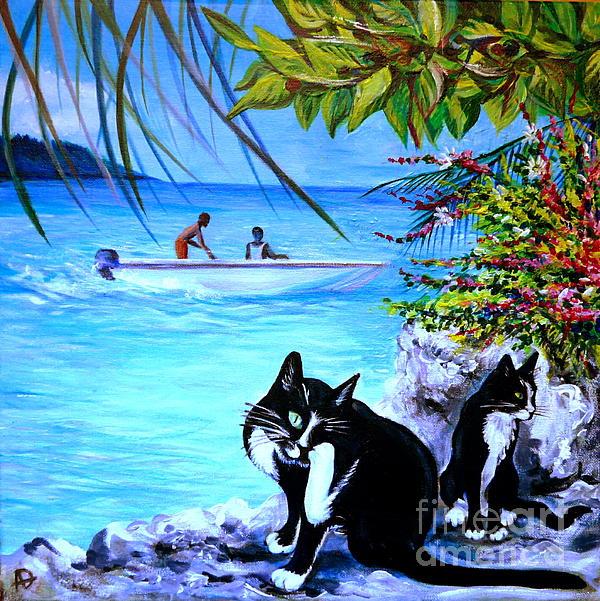 Montego Bay. Part One Print by Anna  Duyunova