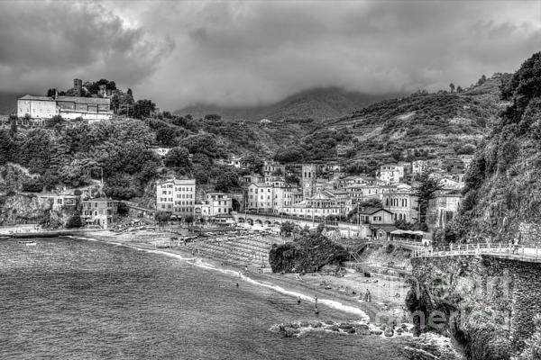 James Anderson - Monterosso al Mare - cinque terre in grey