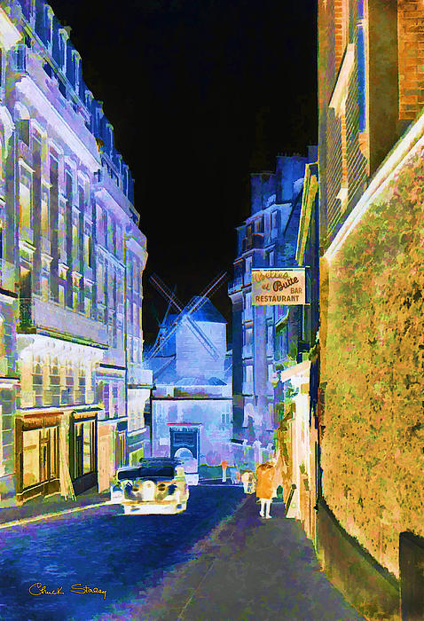 Montmartre Print by Chuck Staley