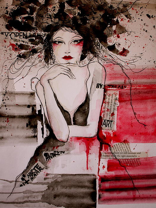 Montmartre Print by Stephanie Noblet  Miranda