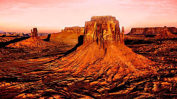 Bob and Nadine Johnston - Monument Valley Sunset