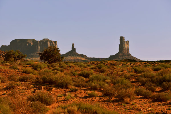Monument Valley - Unusual Landscape Print by Christine Till