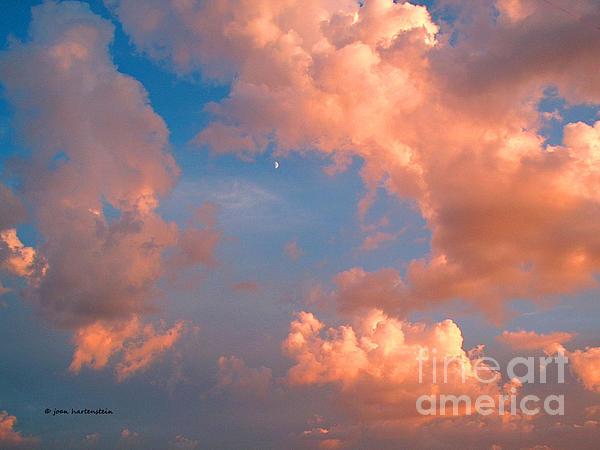 Joan Hartenstein - Moon and Clouds
