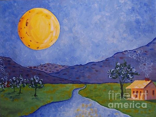 Moon River Print by Susan Williams