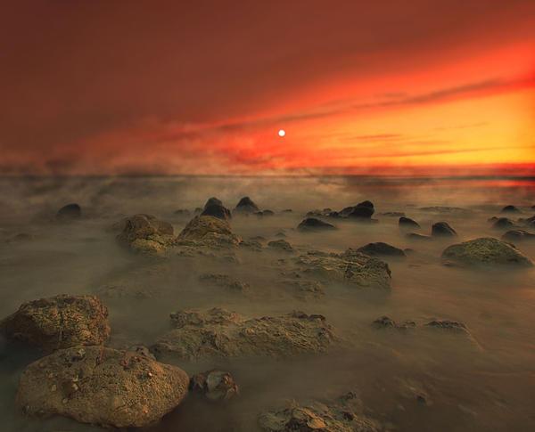 Moon Rocks II Print by Roy  McPeak