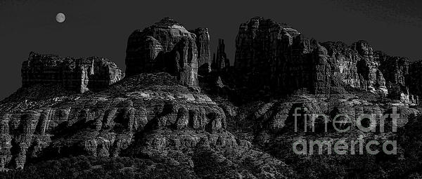 Moonlight Cathederal Print by Jon Burch Photography