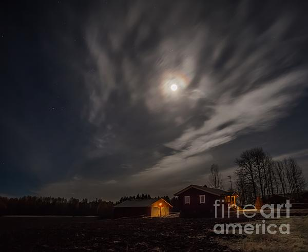 Moonlight Print by Rose-Maries Pictures