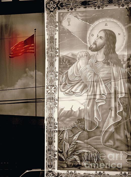 More Prayers For The Nation Print by Joe Jake Pratt