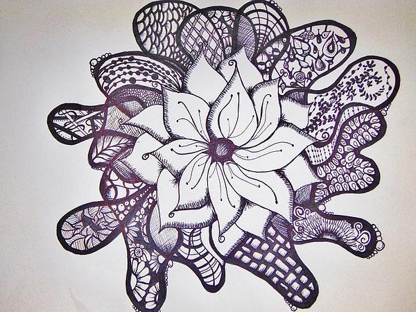 More Than A Flower Print by Lori Thompson