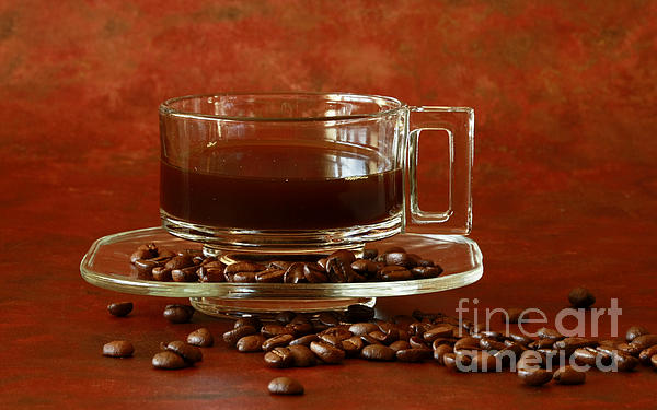 Morning Coffee Print by Inspired Nature Photography By Shelley Myke