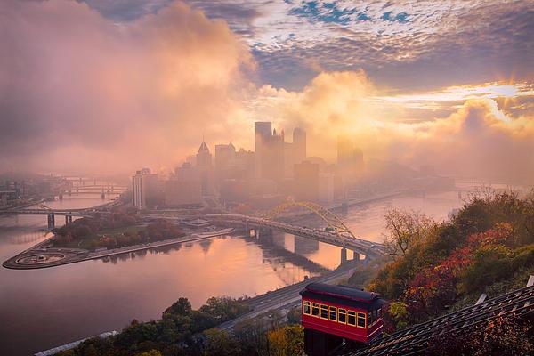 Morning Fog  Print by Emmanuel Panagiotakis